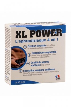 XL Power (20 gélules) - Aphrodisiaque