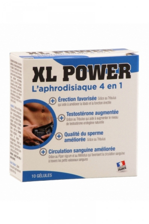 XL Power (10 gélules) - Aphrodisiaque