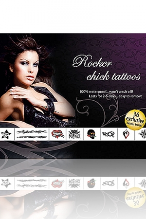 Tatouages Rocker Chick