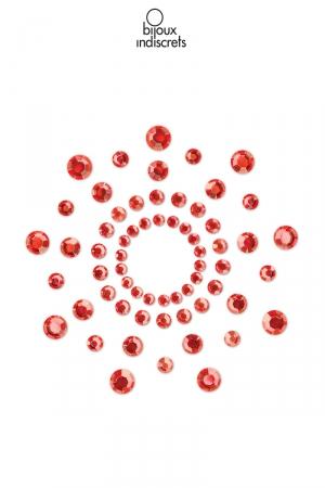 Bijoux de seins Mimi rouges