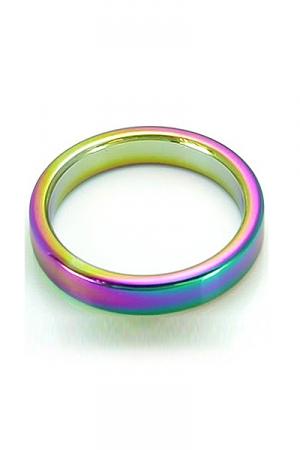 CockRing Rainbow acier lourd