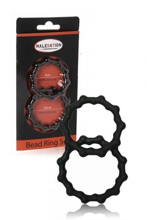 Set 2 cockrings  Bead Ring - Malesation
