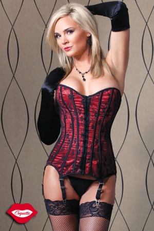 Corset Red Delice