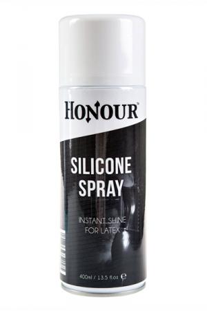 Spray shinner silicone latex