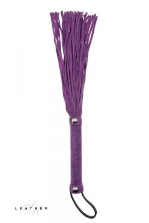 Martinet en cuir violet