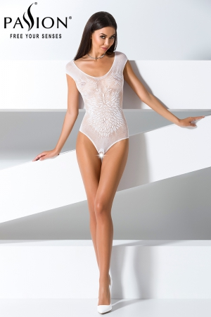Body ouvert BS064 - Blanc