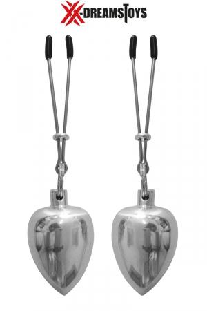 Pinces et poids aluminium 50g