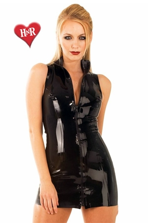 Robe Front Zip Polo latex