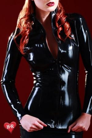 Veste latex Mistress